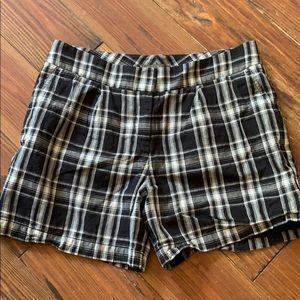 Tommy Bahama plaid linen shorts 8